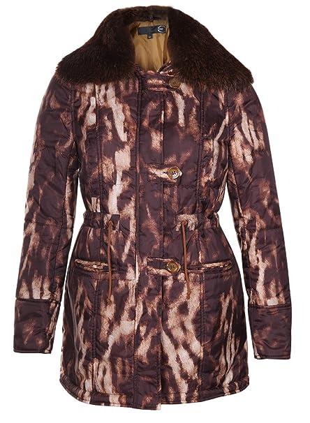 a859635a4e Just Cavalli - Cappotto - Donna: Amazon.it: Abbigliamento