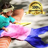 Blankie Tails Mermaid Tail Blanket for Toddlers