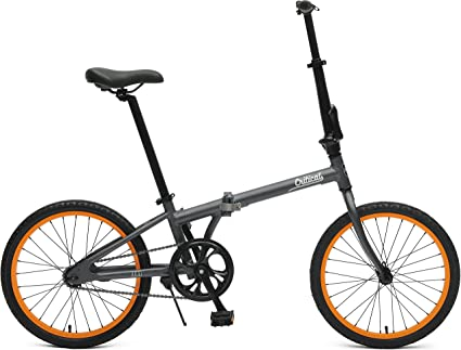 Critical ciclos Judd Single-Speed Plegable Bicicleta con ...