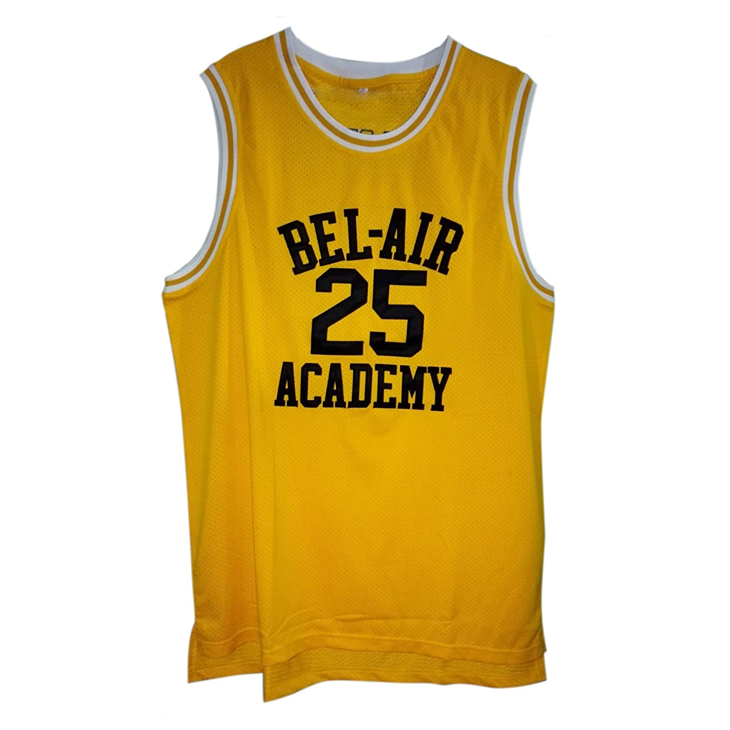 Plain Yellow Basketball Jersey