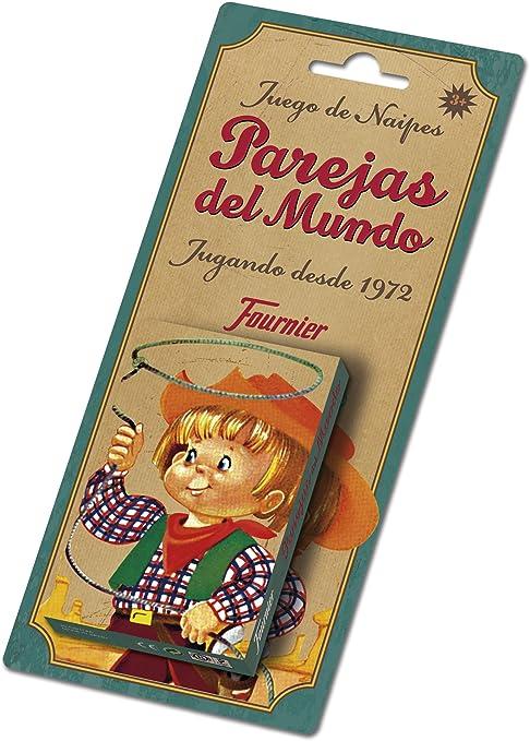 Fournier- Parejas del Mundo Baraja de Cartas Infantil Clásica, Multicolor (F23803): Amazon.es: Juguetes y juegos