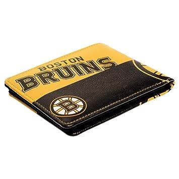 f9587d89 NHL Boston Bruins Bi-fold Wallet Little Earth 500903-BRUN Bags, Packs & Accessories  Wallets