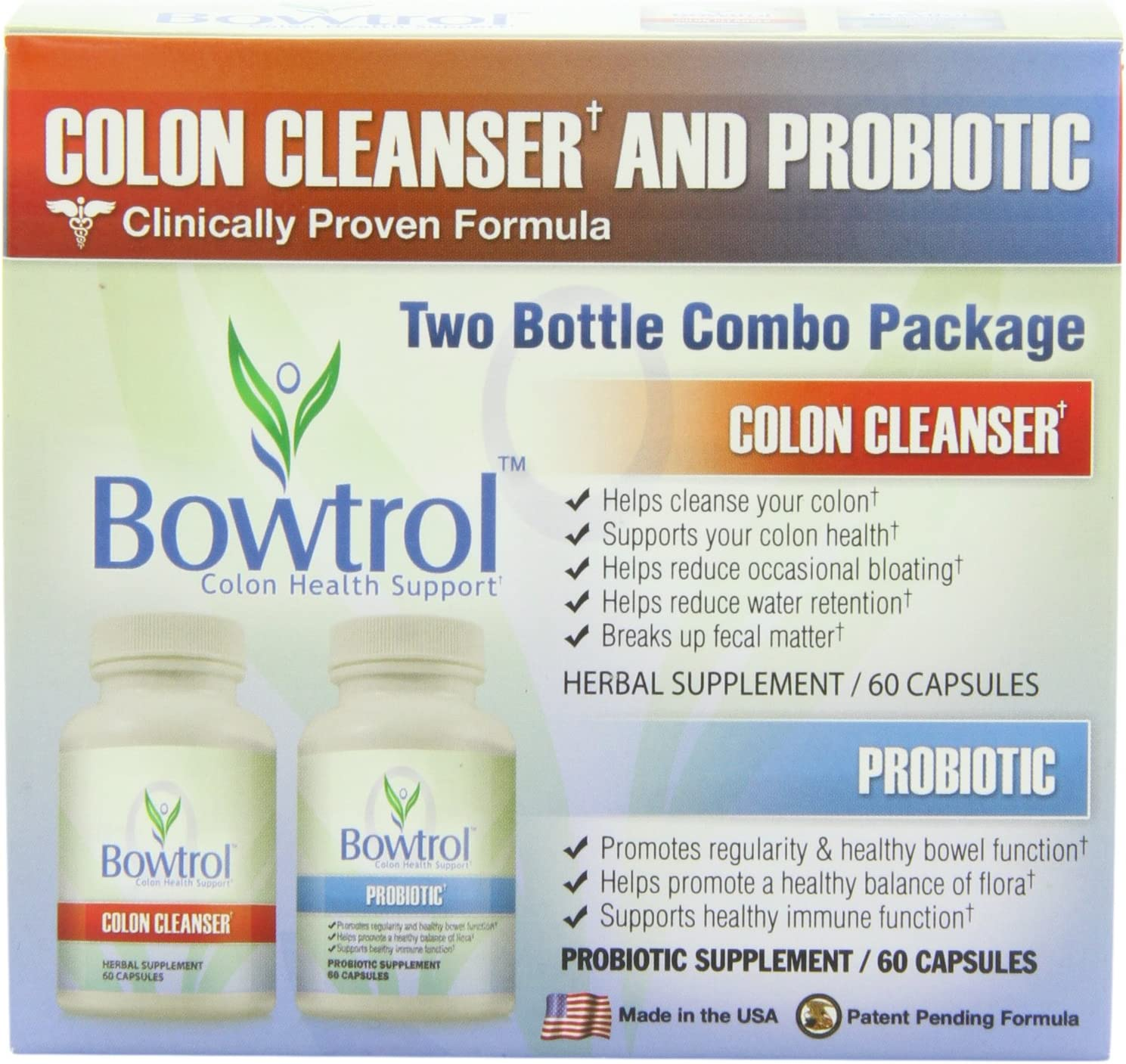 Amazon Com Bowtrol Colon Health Support Colon Cleanser And