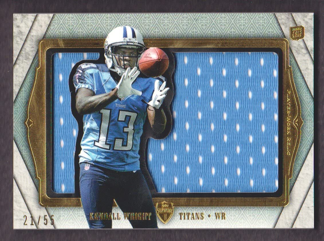 2012 Topps Supreme Football Rookie Jersey Die Cut #SRDC-KW Kendall ...