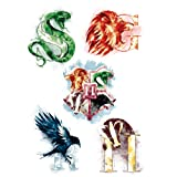 Harry Potter - Tattoos (Temporary) - Set of 35