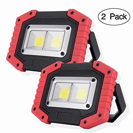 0192cb9e94f OTYTY COB 30W 1500LM LED Work Light 2 Pack