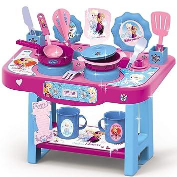 1018 Kinder Spielküche mit Zubehör im Frozen Design • Disney ...