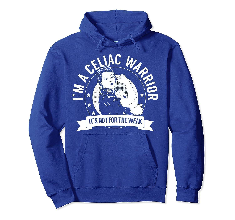 Celiac Warrior NFTW Hoodie - Celiac Disease Awareness-TH