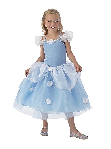Amazon.com: KidKraft Blue Rose Princess Dress Up Costume - S: Toys ...
