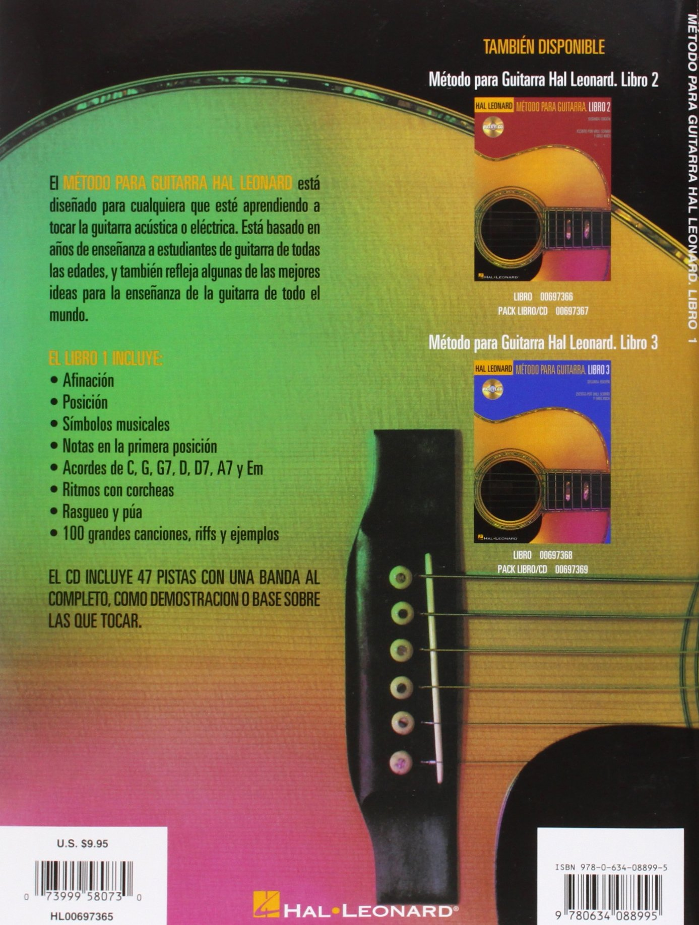 Amazon.com: Hal Leonard Metodo Para Guitarra. Libro 1 - Segunda Edition: (Hal Leonard Guitar Method, Book 1 - Spanish 2nd Edition) (0073999580730): Will ...