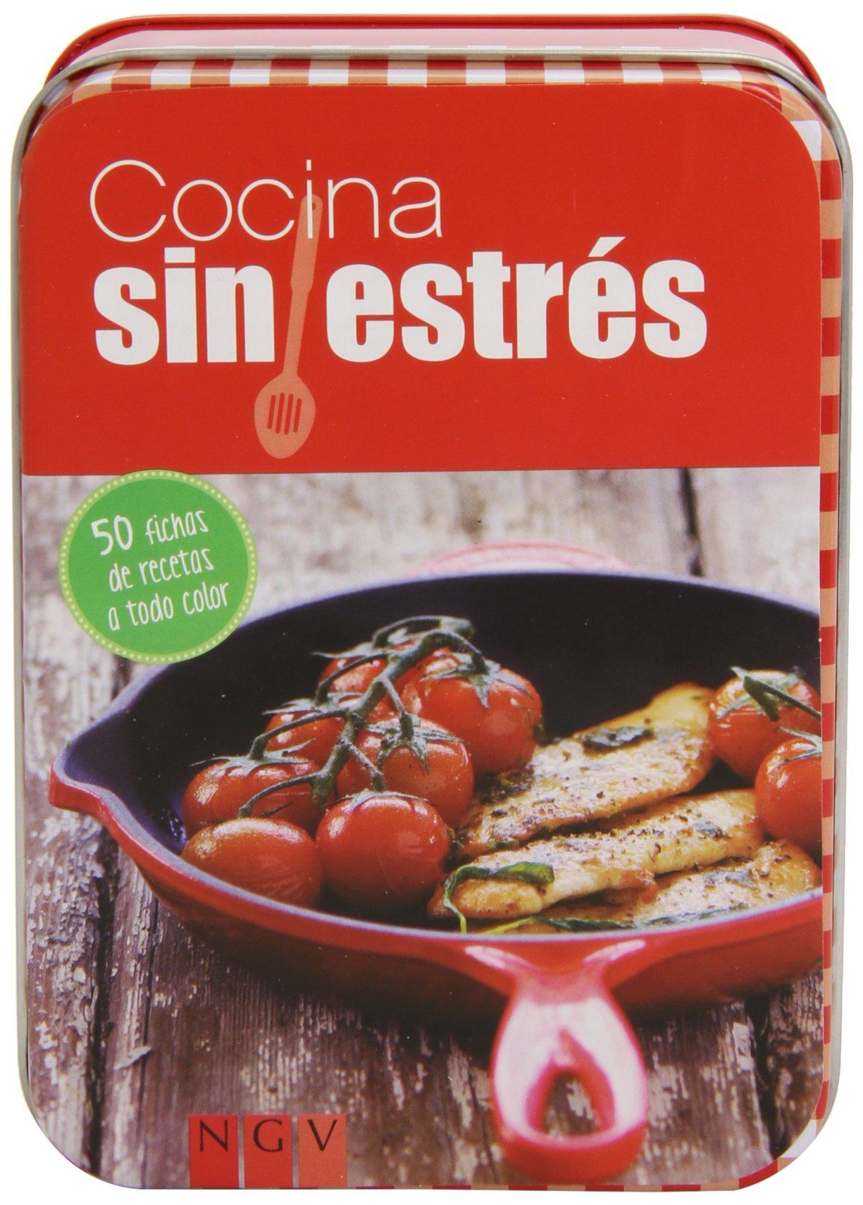 Cocina Sin Estrés. Caja De Recetas: Amazon.es: Vv.Aa.: Libros