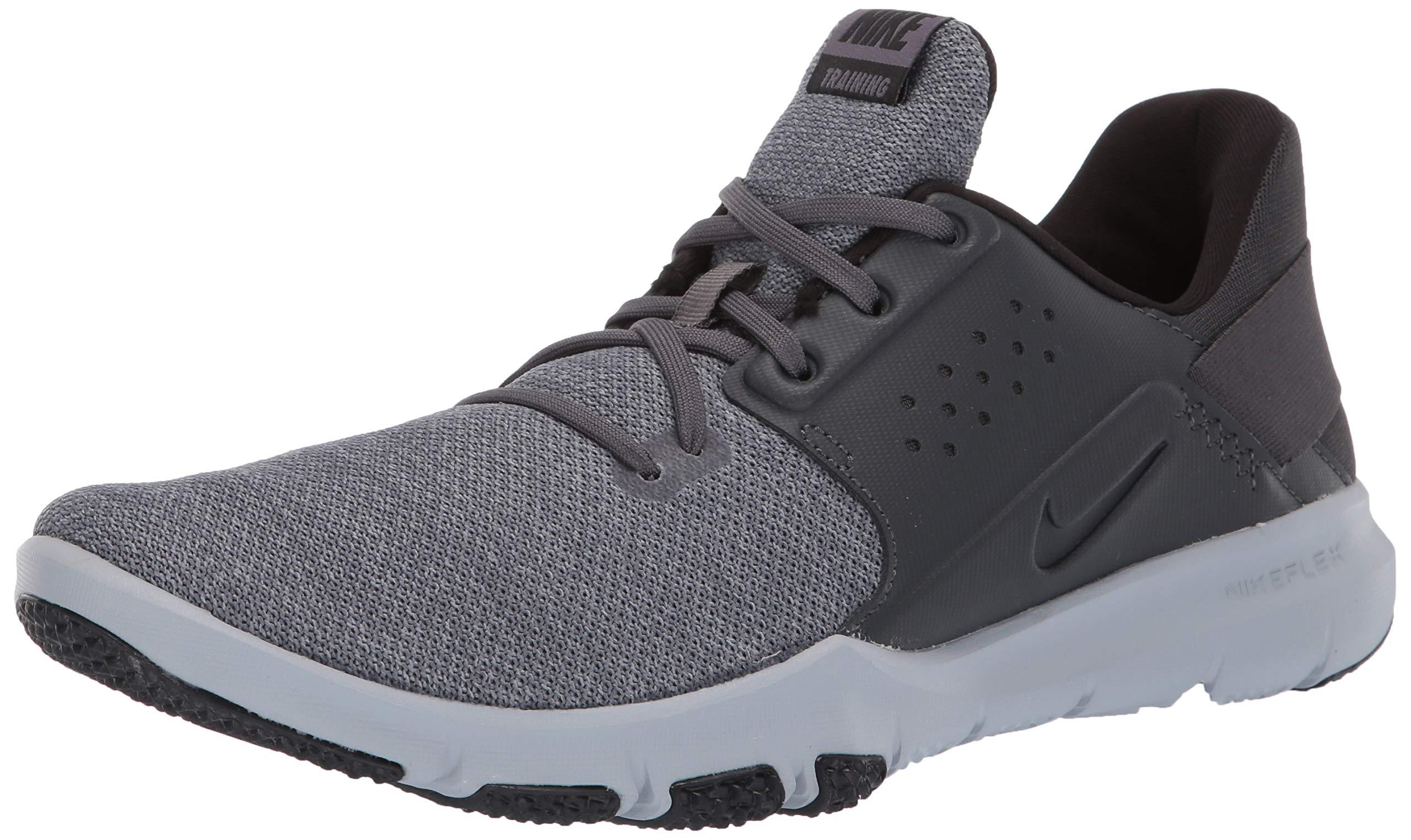 Nike Men's Flex Control TR3 Sneaker, Anthracite/Anthracite - Black, 10 Regular US by Nike