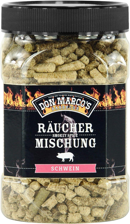 f/ür Schwein und Competition Blend DON MARCOS BARBECUE KS3285 Don Marco/´s R/äucherpellets 3er-Set F/ür Rind