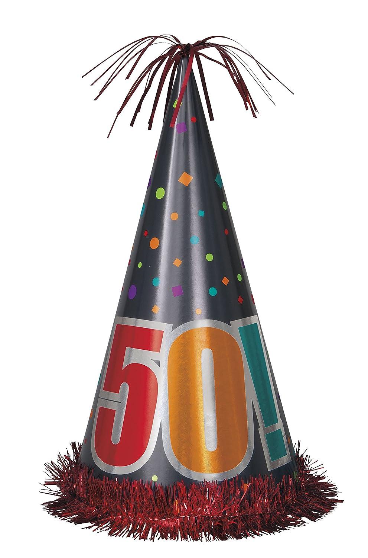 Pull String Unique 46095 Birthday Cheer 50th Birthday Pinata