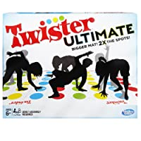 Hasbro Twister Ultimate Game, Bigger Mat, Party Game, Ages 6 and up (Amazon Exclusive)