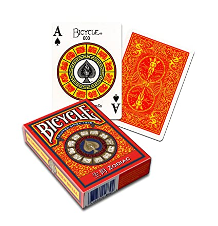 MMS Cards Bicycle Zodiac by USPCC Trick