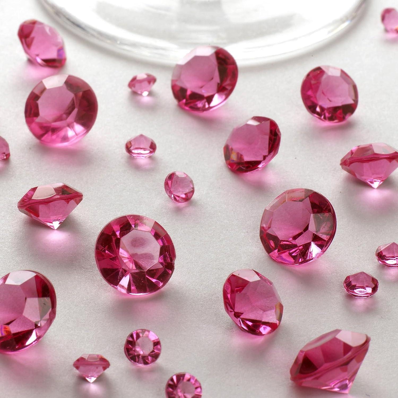 Neviti - Decorazioni da tavola in cristallo, colore: Rosa CSC Imports 592166