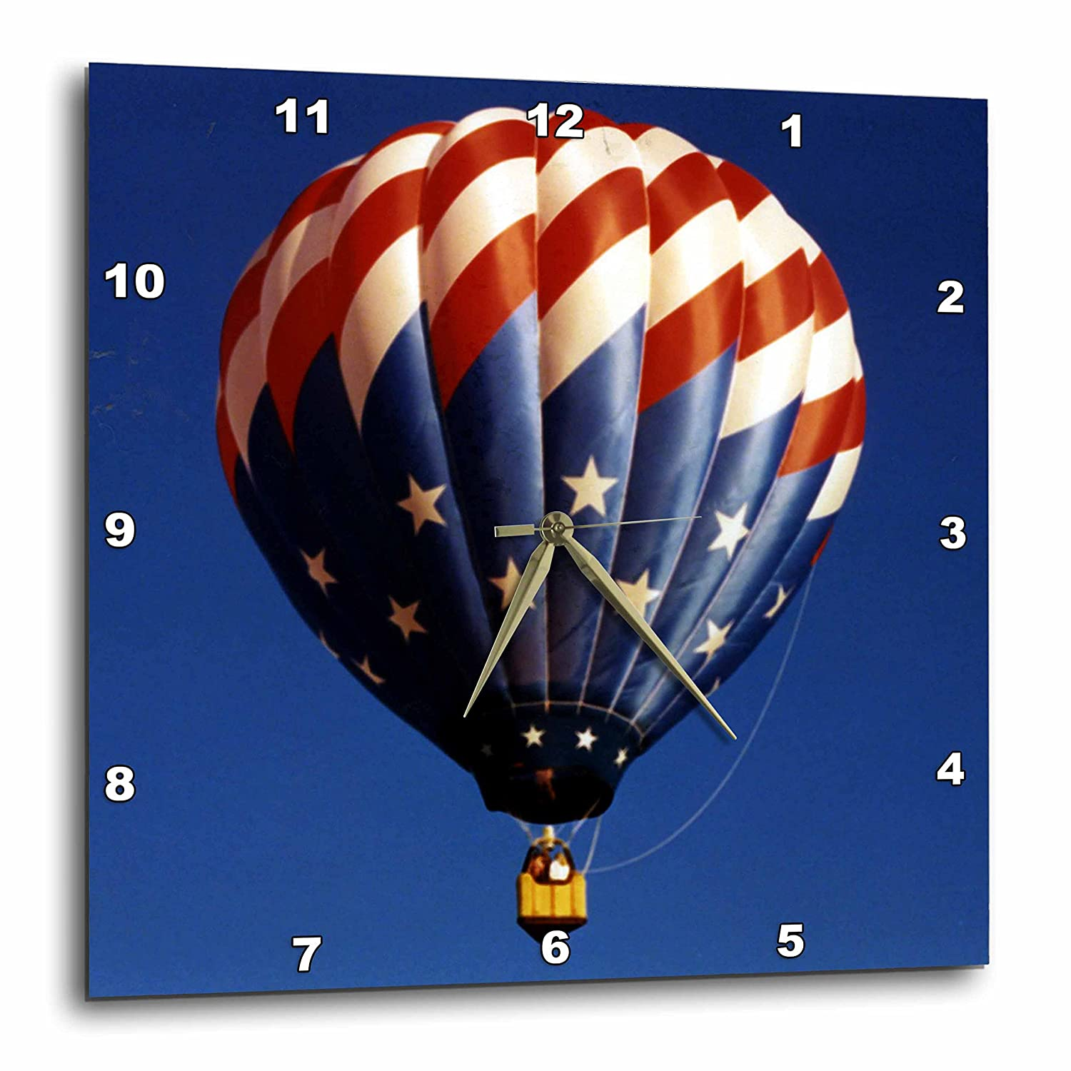 Hot Air Balloon Freedom Wall Clock