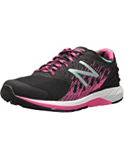 New Balance Girls FuelCore Urge Running Shoes, Black/Pink Glo