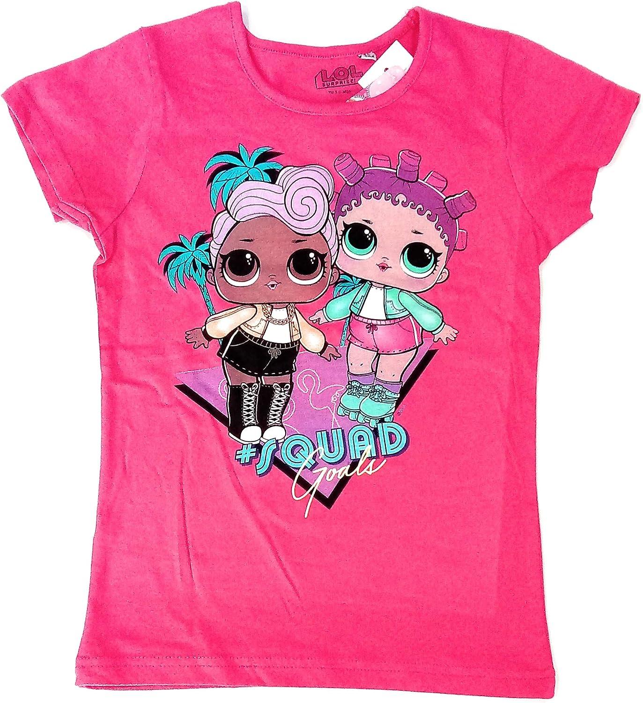 LoL Surprise Camiseta Algodón - Camiseta Manga Corta (Modelo 3, 3 años): Amazon.es: Ropa y accesorios