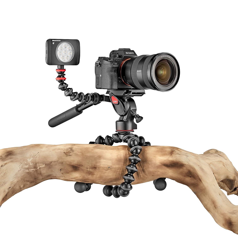 Negro tripode Joby GorillaPod 3K Kit Digitales//c/ámaras de pel/ícula 3pata Digitales//c/ámaras de pel/ícula, 3 kg, 3 Pata s s Tr/ípode , Negro, Ball, 1//4