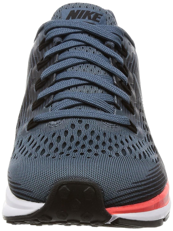Nike Women s Air Zoom Pegasus 34 Running Shoes-Blue Fox Black-7.5