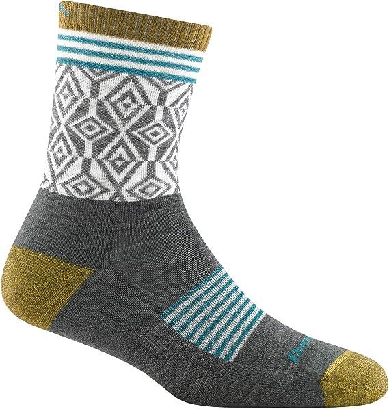 Teko Socks All-Mountain Light Cushion Womens 8814 Black//Aqua Small