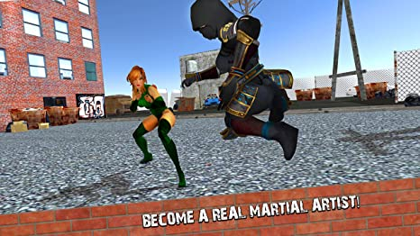 Amazon.com: Ninja Kung Fu Fighting: Street Wars Fighter King ...