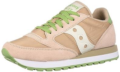 free shipping fdb54 65e76 Saucony Originals Women s Jazz Original Sneaker Blush Green Cream 5 M US