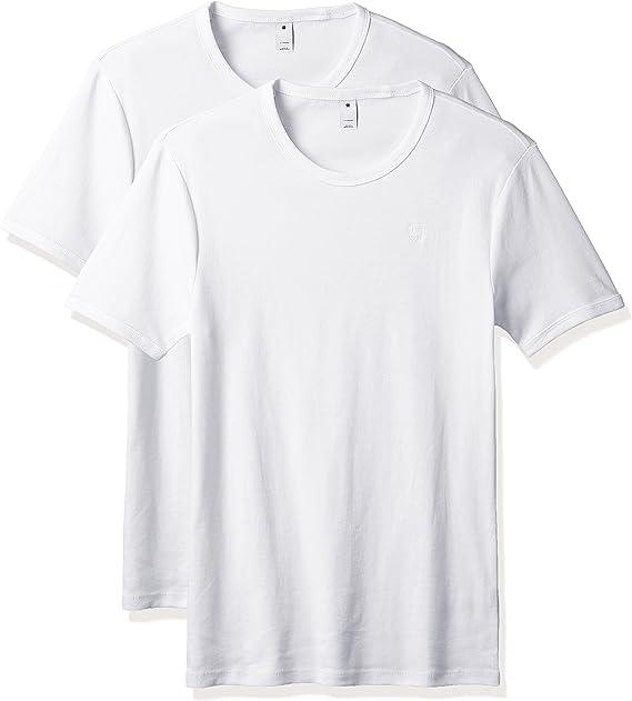 G-STAR RAW Base R T S/S 2-Pack Camiseta para Hombre: Amazon.es: Ropa y accesorios