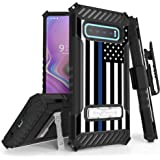 Beyond Cell Trishield Series Compatible With S10+ Case/ Military Grade Rugged Cover + [Metal Kickstand]+[Belt Clip…