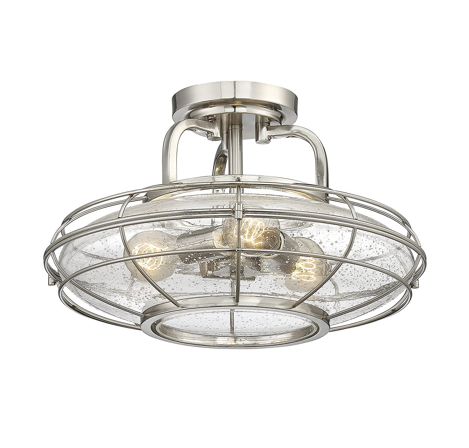 Savoy House 6 574 3 13 Connell 3 Light Semi Flush in English