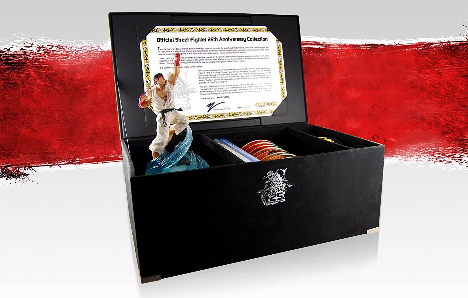 Amazon.com: Street Fighter 25th Anniversary Collectors Set ...