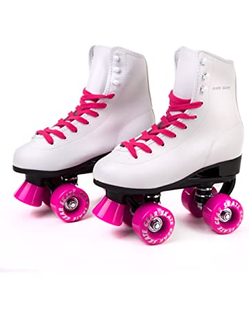 28c18215a9e Cal 7 Skate Gear Soft Boot Pink Roller Skate, Retro Fashion High Top Design  in