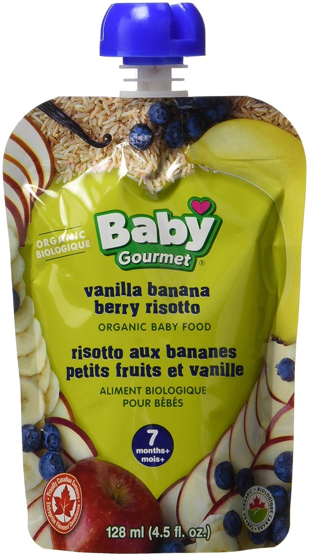 Baby Gourmet Vanilla Banana Berry Rissotto, 12-Pack Baby Gourmet Foods Inc VBBR4BGCSCD0012