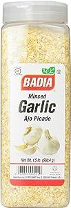 Badia Garlic Minced, 1.5 Pound (PP-GRCE11861)