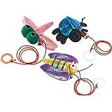 Ferplast Pa 5025, Brinquedo Animais para Gatos, Sortido, com Sininho, Poliéster e Plástico Ferplast para Gatos, Variado