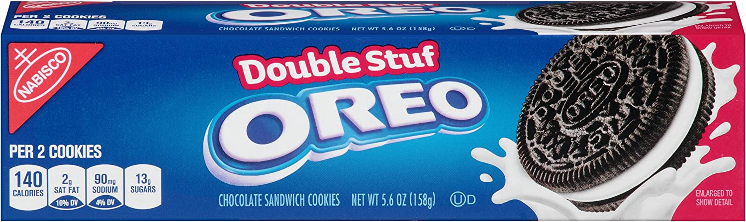 Oreo Double Stuf Cookies, 5.6 Ounce (Pack of 12): Amazon.es ...