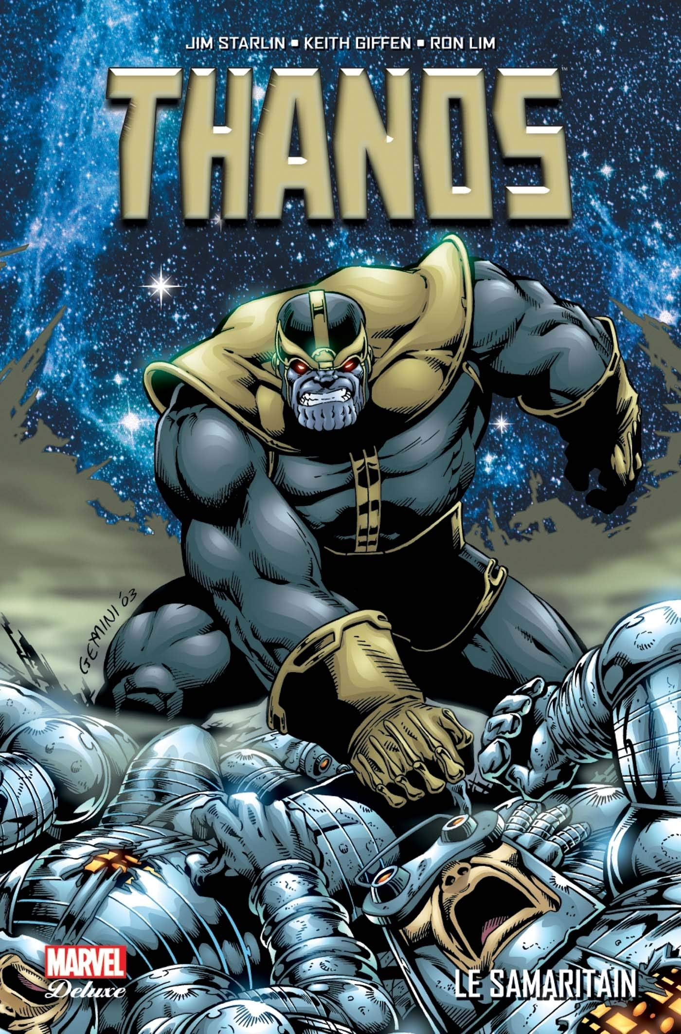 Thanos : Le Samaritain (PAN.MARV.DELUXE): Amazon.es: Starlin ...