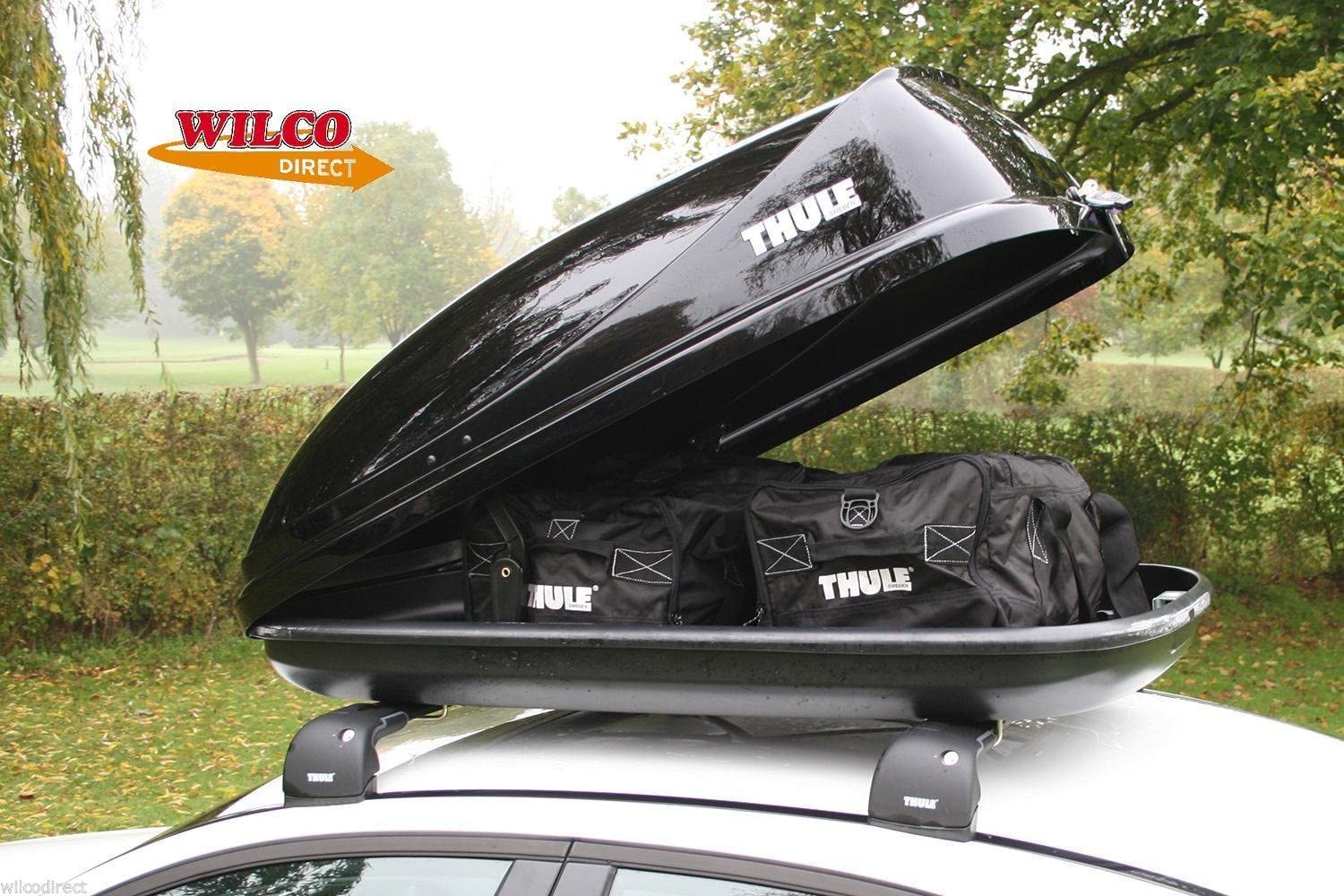 Waterproof Roof Box Cover fits Thule Ocean Touring /& Motion Boxes LARGE SIZE