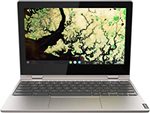 "Lenovo Chromebook C340 2-in-1-11.6"" HD Touch - Celeron N4000-4GB - 32GB eMMC - Gray (Renewed)"