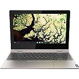 "Lenovo Chromebook C340 2-in-1-11.6"" HD Touchscreen - Celeron N4000-4GB - 32GB eMMC - Gray (Renewed)"