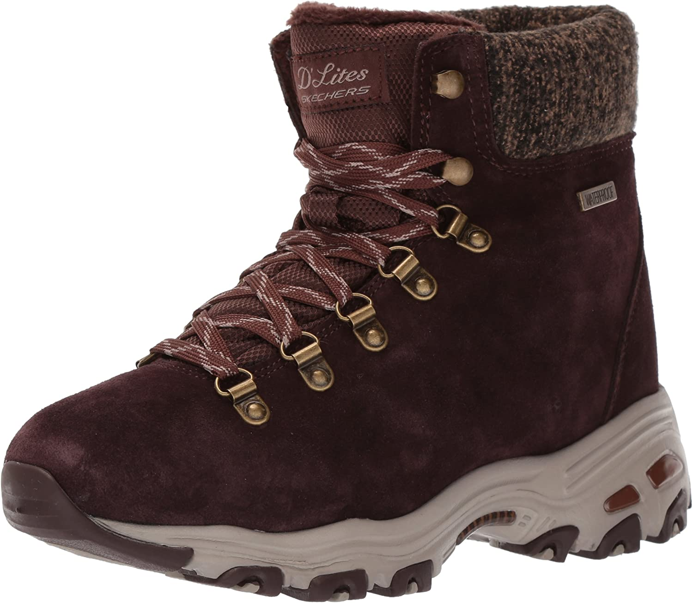 neutral junto a aleatorio  Amazon.com | Skechers Womens D'Lites | Snow Boots