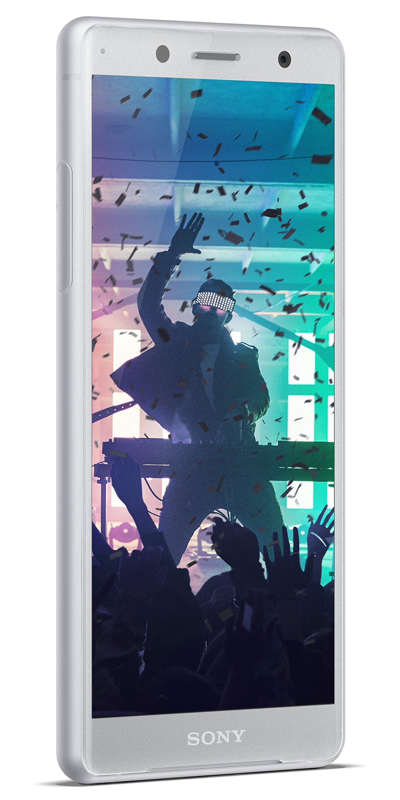 Sony Xperia XZ2 Compact Unlocked Smartphone - 5'' Screen - 64GB - White Silver (US Warranty)