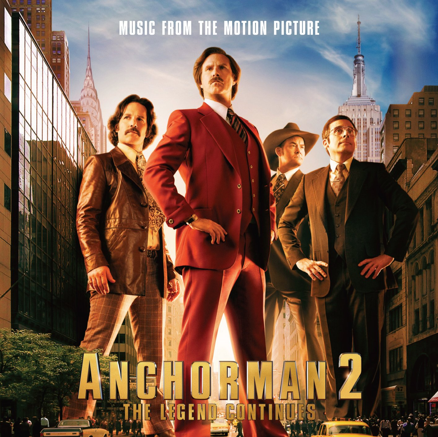 Various Artists Anchorman 2 The Legend Continues Music From The Motion Picture Amazon Com Music