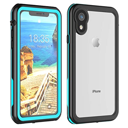 Amazon.com: Carcasa impermeable para iPhone XR de 6,1 ...