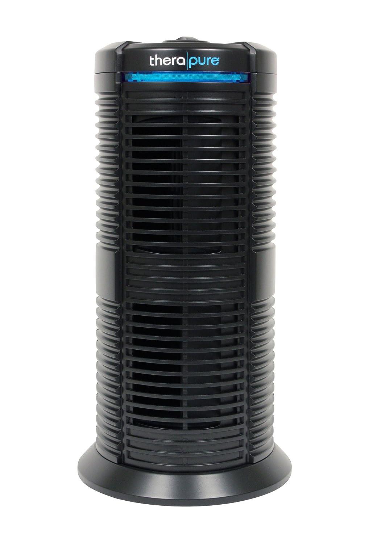 Envion Therapure TPP220-M UV Germicidal Permanent HEPA Type Tower Air Purifier Black, 70 Sq Ft Capacity
