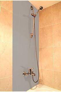 A+H Duschrückwand Wandverkleidung Aus Hochwertigem PVC, Alternative Zu  Aluverbund Platten, Verschiedenen Farben