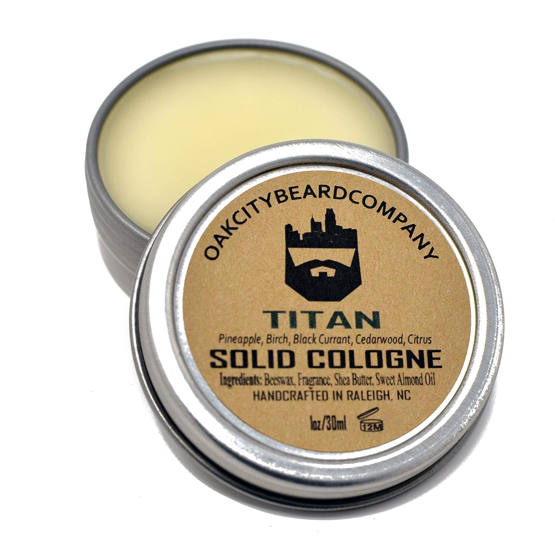OakCityBeardCo. - Titan - Men's Solid Cologne - 1oz