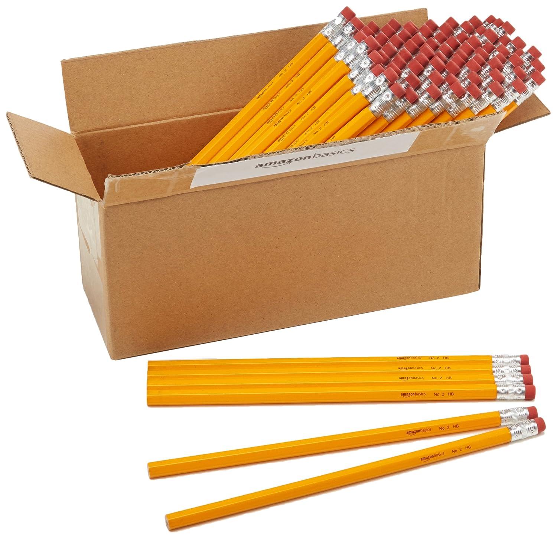 AmazonBasics Wood-cased Pencil...